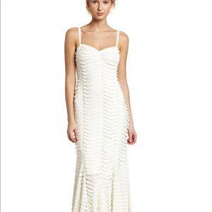 Betsey Johnson original cream maxi dress
